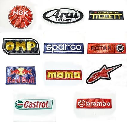 ONEKOOL GO Kart Karting, 11 Bordado Parches de Carreras ...