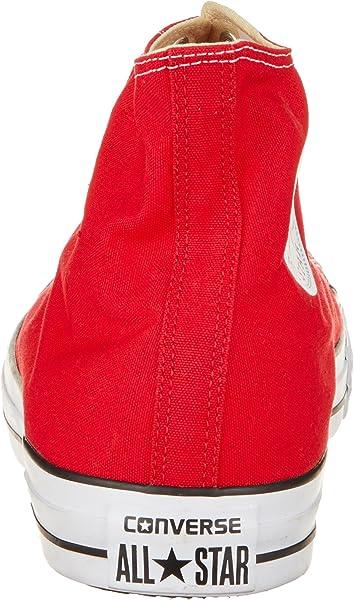 8894dec3e4ff Converse Unisex-Erwachsene Chuck Taylor All Star Hi Sneaker Rot (Red 600) 54