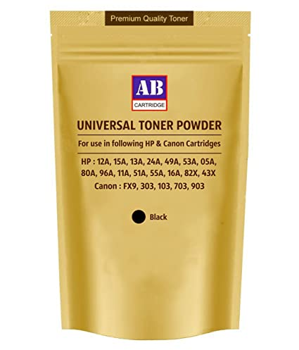 Ab cartridge universal toner powder for hp 12a 15a 13a 24a 49a image unavailable stopboris Gallery