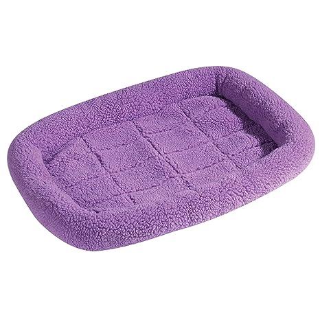 Slumber mascota Sherpa caja Beds – Cómoda bumper-style camas para perros y gatos –