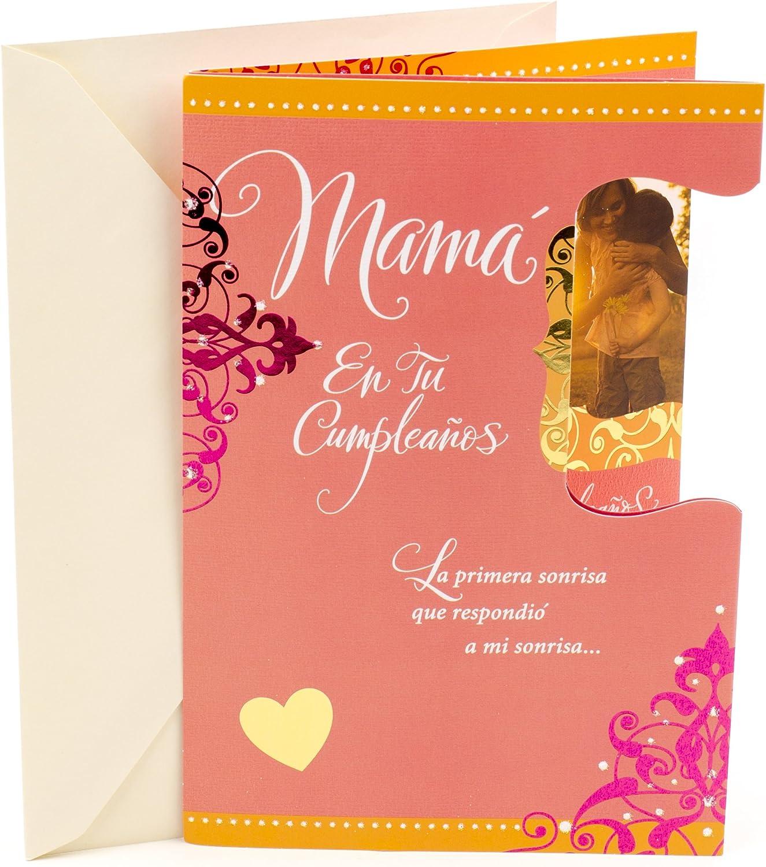 Hallmark Vida Spanish Birthday Greeting Card for Mom (Mama En Tu Cumpleanos)