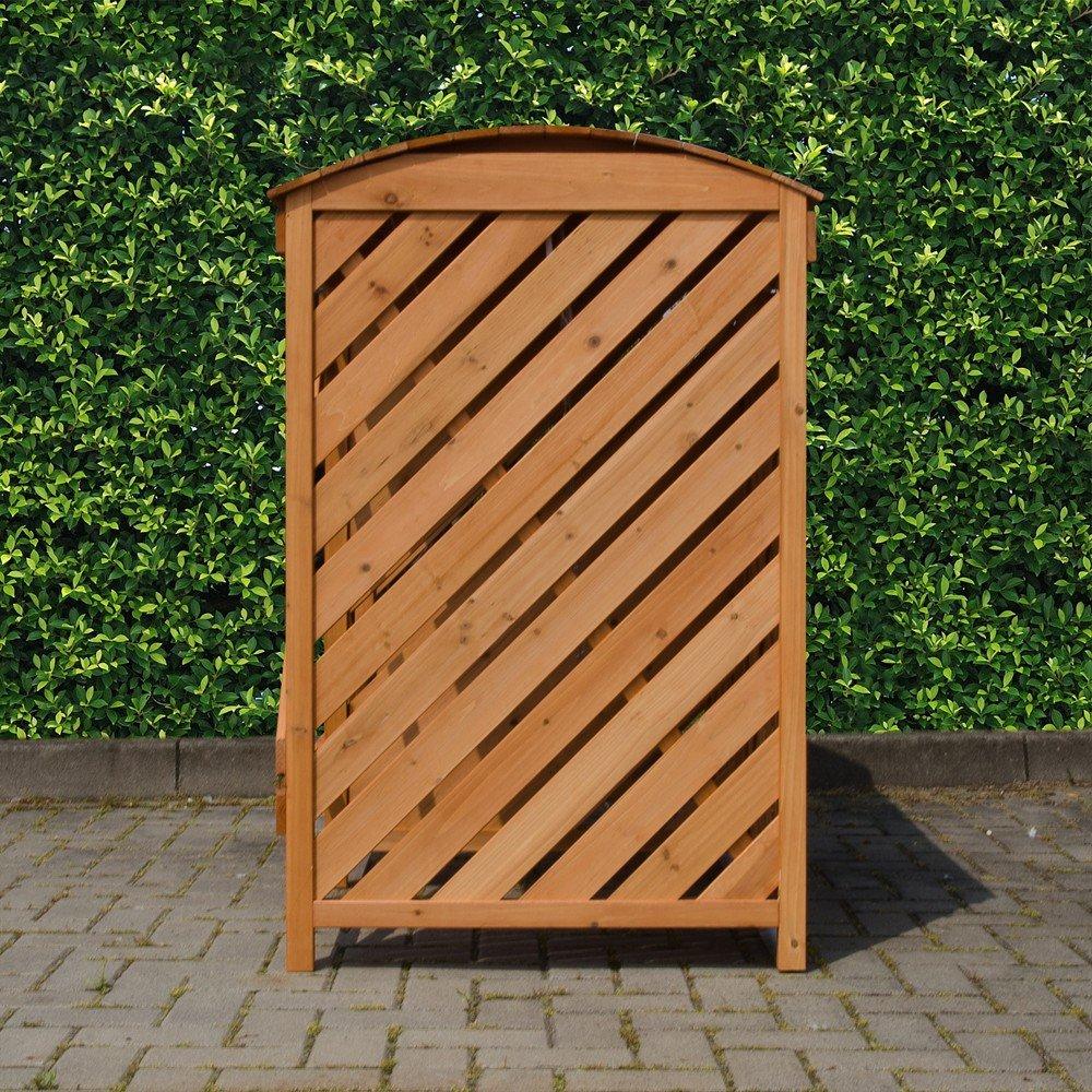 Extrem Mülltonnenbox für 3 Mülltonnen aus Nadelholz: Amazon.de: Garten YF24