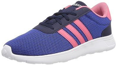 adidas Lite Racer K, Chaussures de Fitness Mixte Enfant, Bleu (Maruni/Rostiz/Reauni 000), 36 2/3 EU