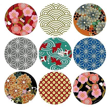 amazon com alimitopia japan style sealing sticker round japanese