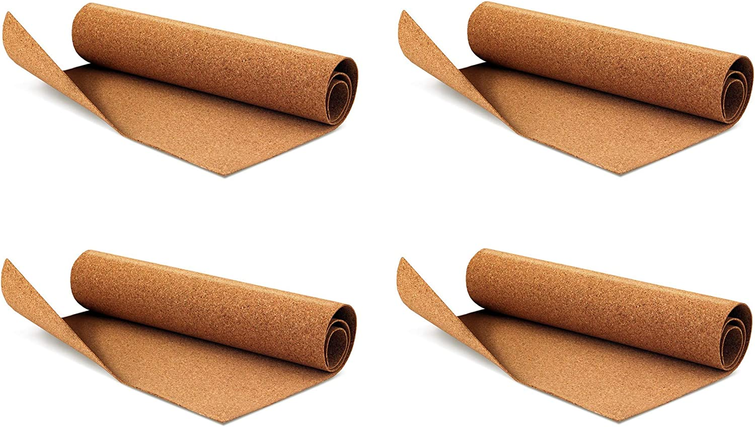 8.5 x 11 ... Hygloss Products Cork Sheets 2 mm Thick Self Adhesive Cork Roll