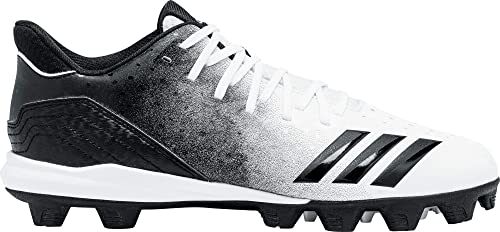 hot sales 70b9b c4a51 adidas Men s Icon 4 Splash MD Baseball Cleats (White Black, 12 D(