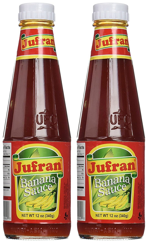 Amazon Com Jufran Banana Sauce 12 Oz X 2 Bottles Hot Sauces