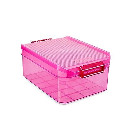 Tatay 1150212 Caja Multiusos, 4,5 l, Fucsia, 19.20x29.70x12
