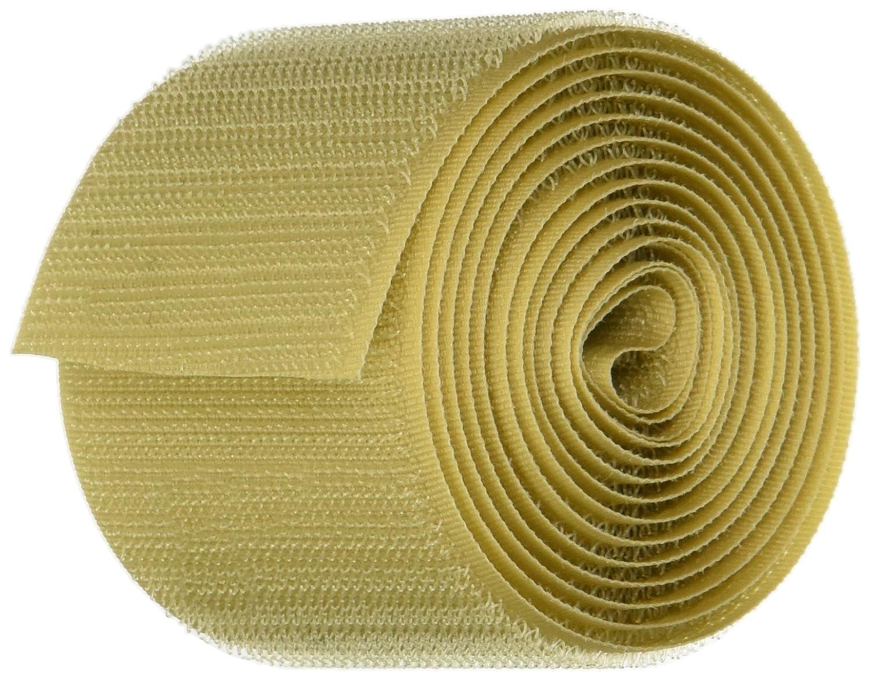 FLAMEPRO 1222-FR-PSA//H Beige Flame Retardant Woven Nylon Hook 5 Length 5//8 Wide Adhesive Back