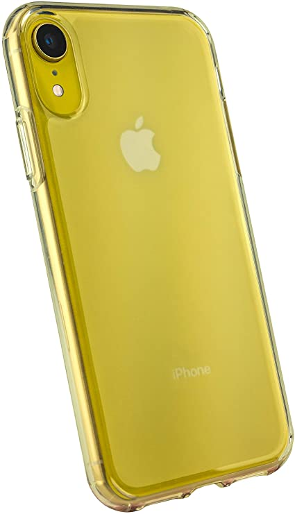 info for b8029 60e57 Smartish iPhone XR Clear Case - Nudist Frosted Clear - Protective Slim Grip  Shock Resistant Cover (Silk) - Nothin' to Hide