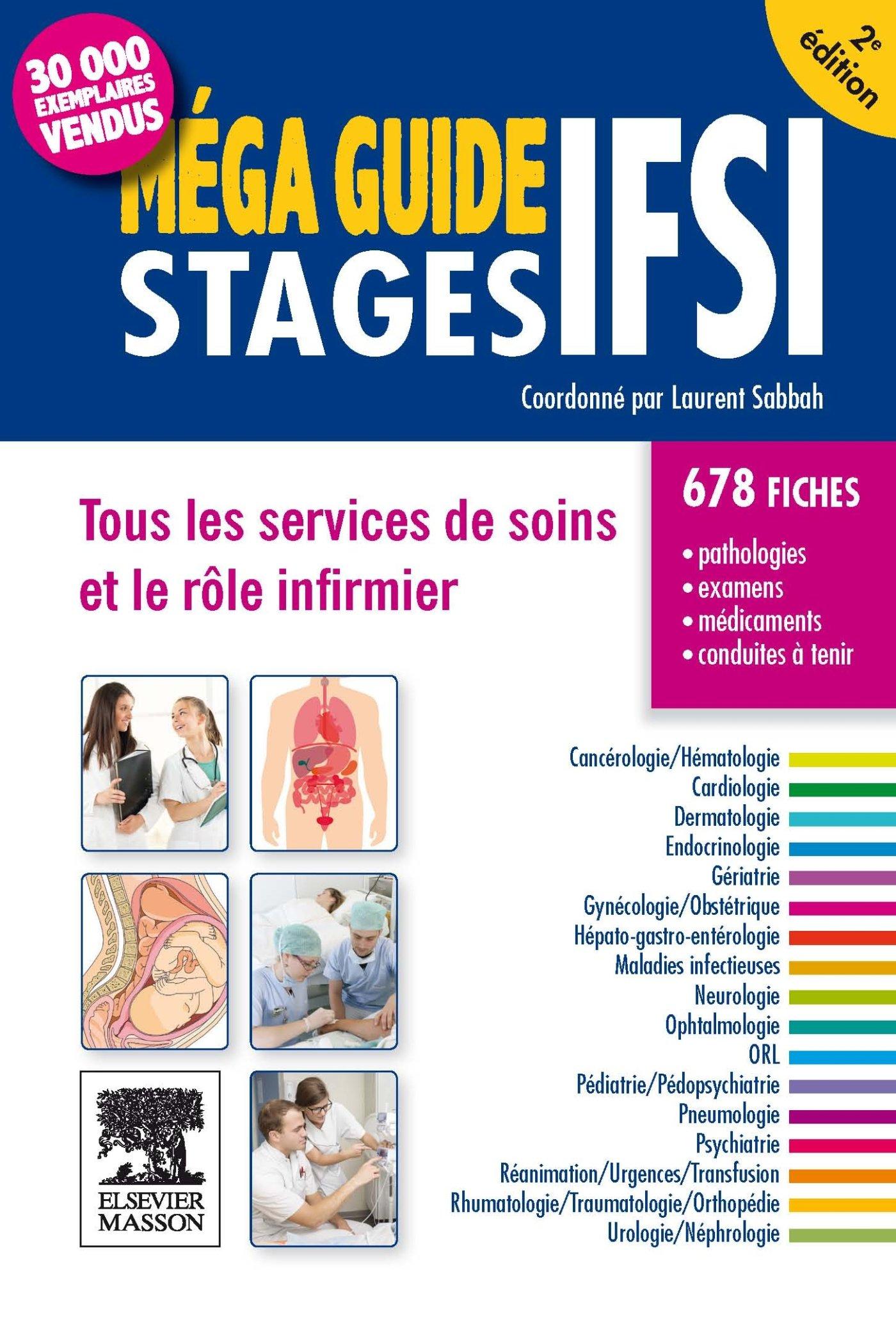 Amazon Fr Mega Guide Stages Ifsi Tous Les Services De