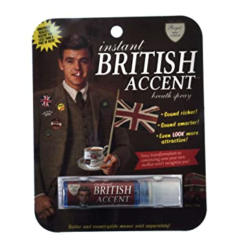 Amazon blue q gag gift intant british accent breath spray blue q gag gift quotintant british accentquot negle Gallery