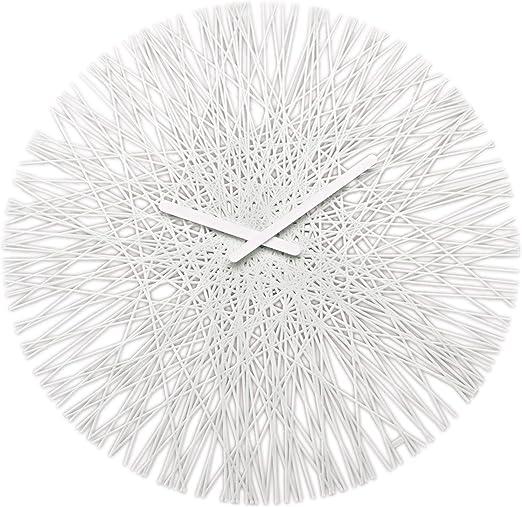 Koziol Silk Wall Clock Black