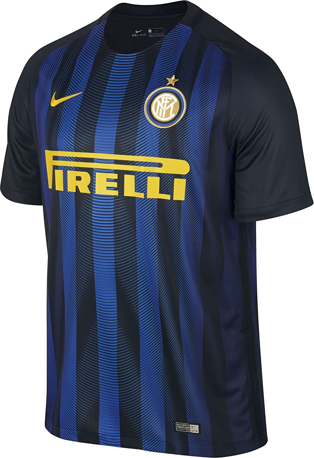 the best attitude e3dbc 55899 NIKE Mens FC Inter Milan Stadium Jersey-Black