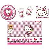 Procos - Set de cubiertos desechables Hello Kitty