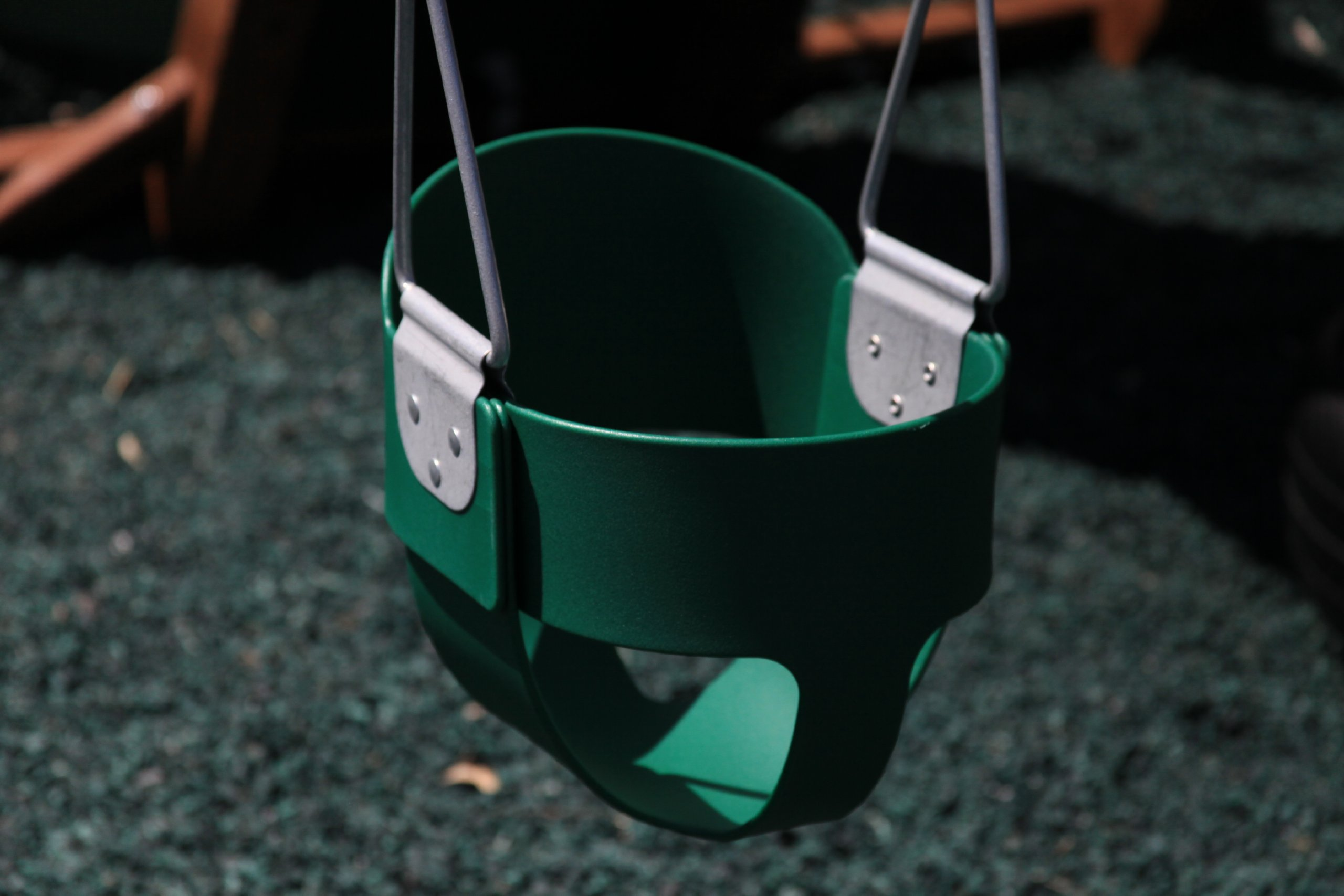 Swing Kingdom Green Rubber Infant Swing by Swing Kingdom