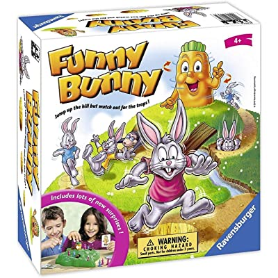 Ravensburger Funny Bunny Game for Boys & Girls Age 4 & Up - A Fun & Fast Family Game You Can Play Over & Over: Toys & Games
