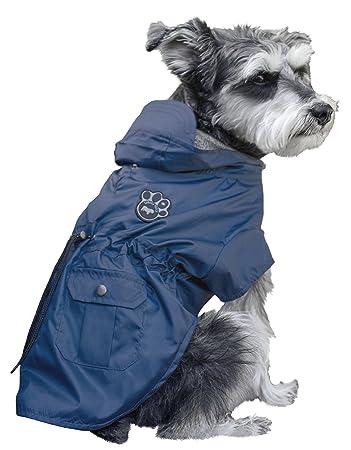 ec9168b234e4 Canada Pooch West Coastal Dog Coat, Size 12, Navy  Amazon.co.uk  Pet ...