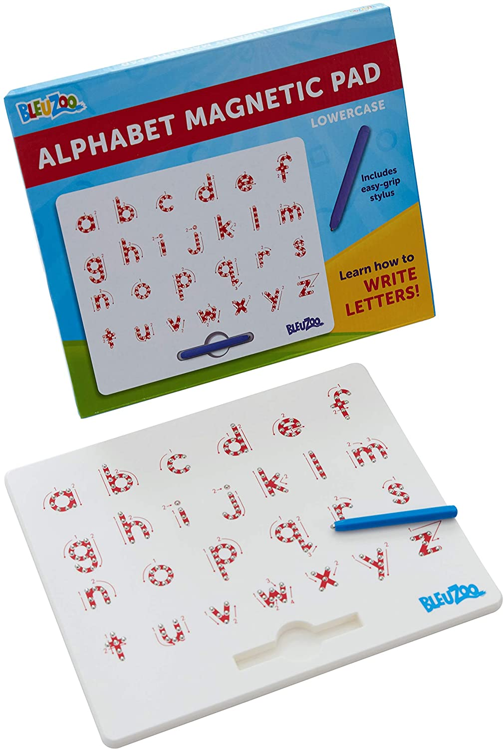 Amazon.com: BleuZoo Alphabet Magnetic Letter Tracing Board ...
