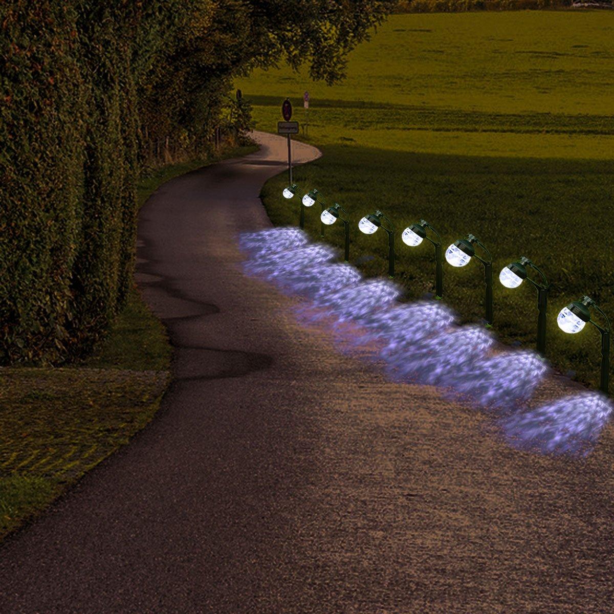 ACTOPP Weihnachts Lichterkette Solarleuchte Weihnachtsbeleuchtung ...