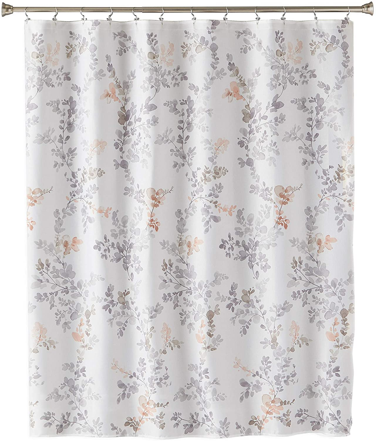 SKL Home by Saturday Knight Ltd. Greenhouse Leaves Fabric Shower Curtain, Multicolored