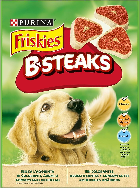 Purina Friskies B-Steaks golosinas y chuches para perros 5 x 150 g ...