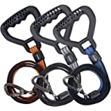 ZOMFUSK Dog Leash for Large or Medium Dogs Strong Double-Layered Durable Heavy-Duty Training Walking Dog Lead with Safety Cla