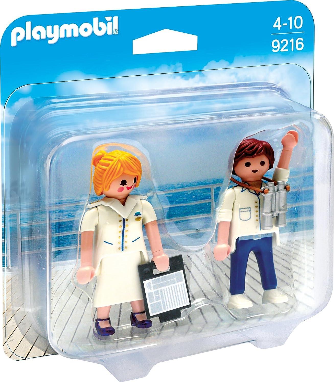 Playmobil 9216 Duo Pack Stewardess und fizier Amazon Spielzeug