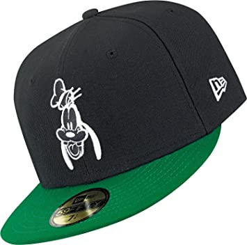 1b3d51e9ace DISNEY - NEW ERA BASECAP - GOOFY - BLACK   GREEN Größentabelle 6 7 8 ...