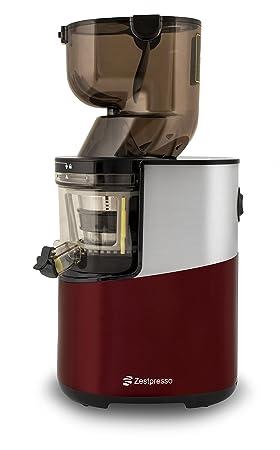 Zestpresso ZP-500 Whole Slow Juicer | Extractor de Zumos | Licuadora en Frío | 20 Años de Garantía (Rojo): Amazon.es: Hogar