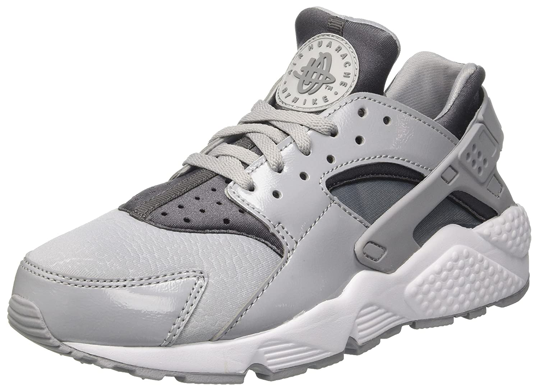 NIKE Air Huarache Run Womens Shoes Wolf Grey/Cool Grey-Black 634835-023 (5.5 B(M) US)