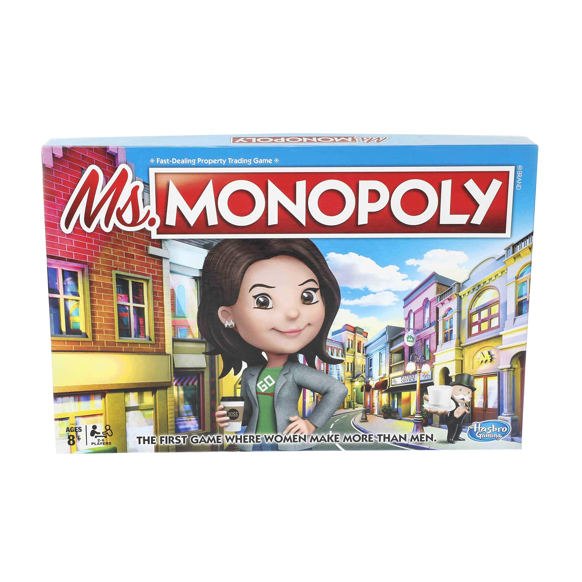 Monopoly Ms.Monopoly Board Game for Ages 8 & Up by Monopoly