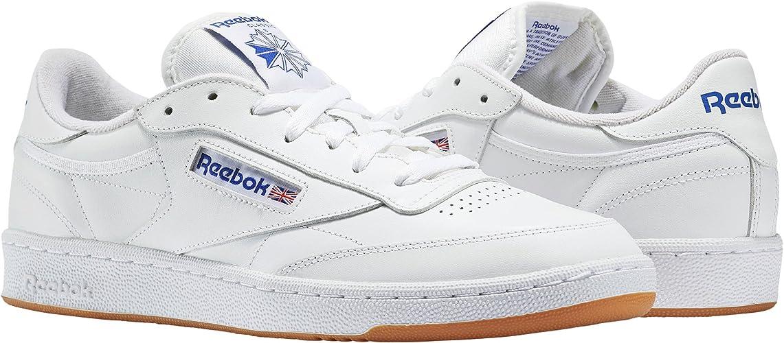 Reebok Club C 85 Gum – Chaussures de Sport, Homme, Blanc