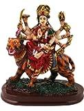 SUNNY CORPS™ Durga Gift Statue Idol Showpiece Sculpture Murti LxHxW(cm) = 12.5x14x7.5