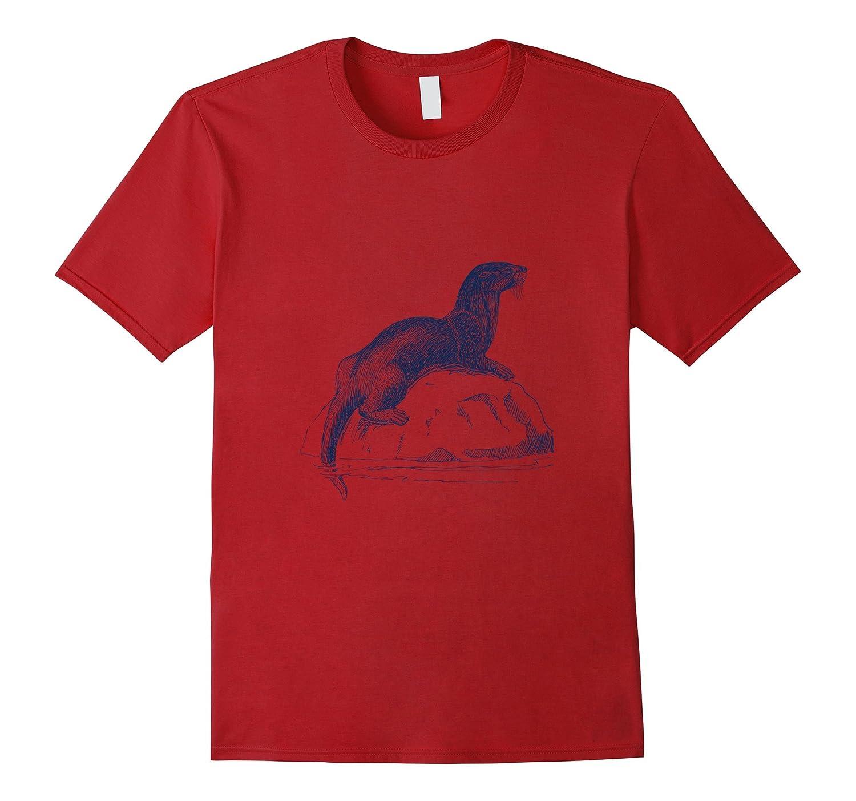 Beautiful Otter T-Shirt-Art