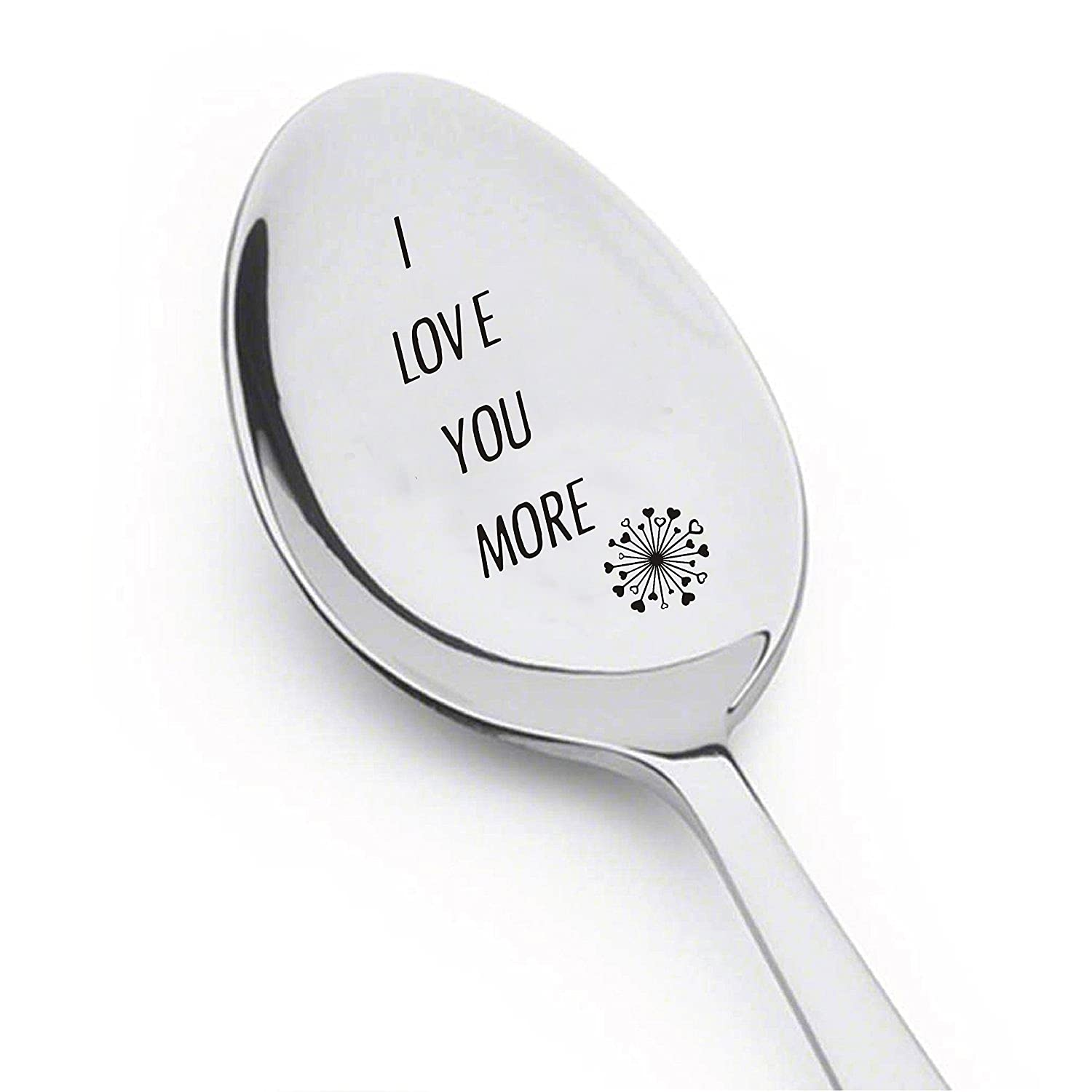 Amazon.com: I Love You More Spoon- Inspirational Gift- Rocking ...