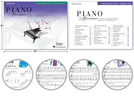 Amazon.com: Piano Adventures Lesson Book, Primer Level ...