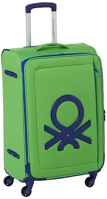 Benetton - Maleta con ruedas (tamaño mediano)