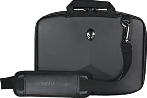 Alienware Vindicator Slim Carrying Case for 13-Inch to 14-Inch Gaming Laptops, Black (AWVSC14)