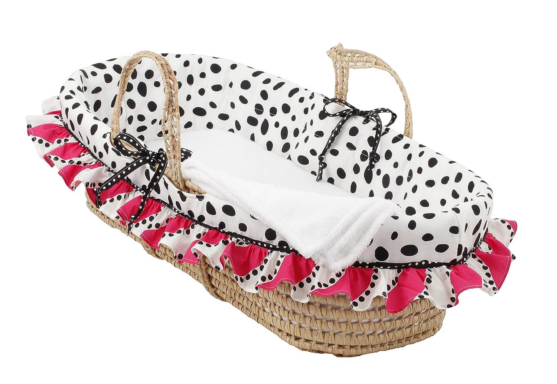 Cotton Tale Designs Moses Basket, Hottsie Dottsie HDMB