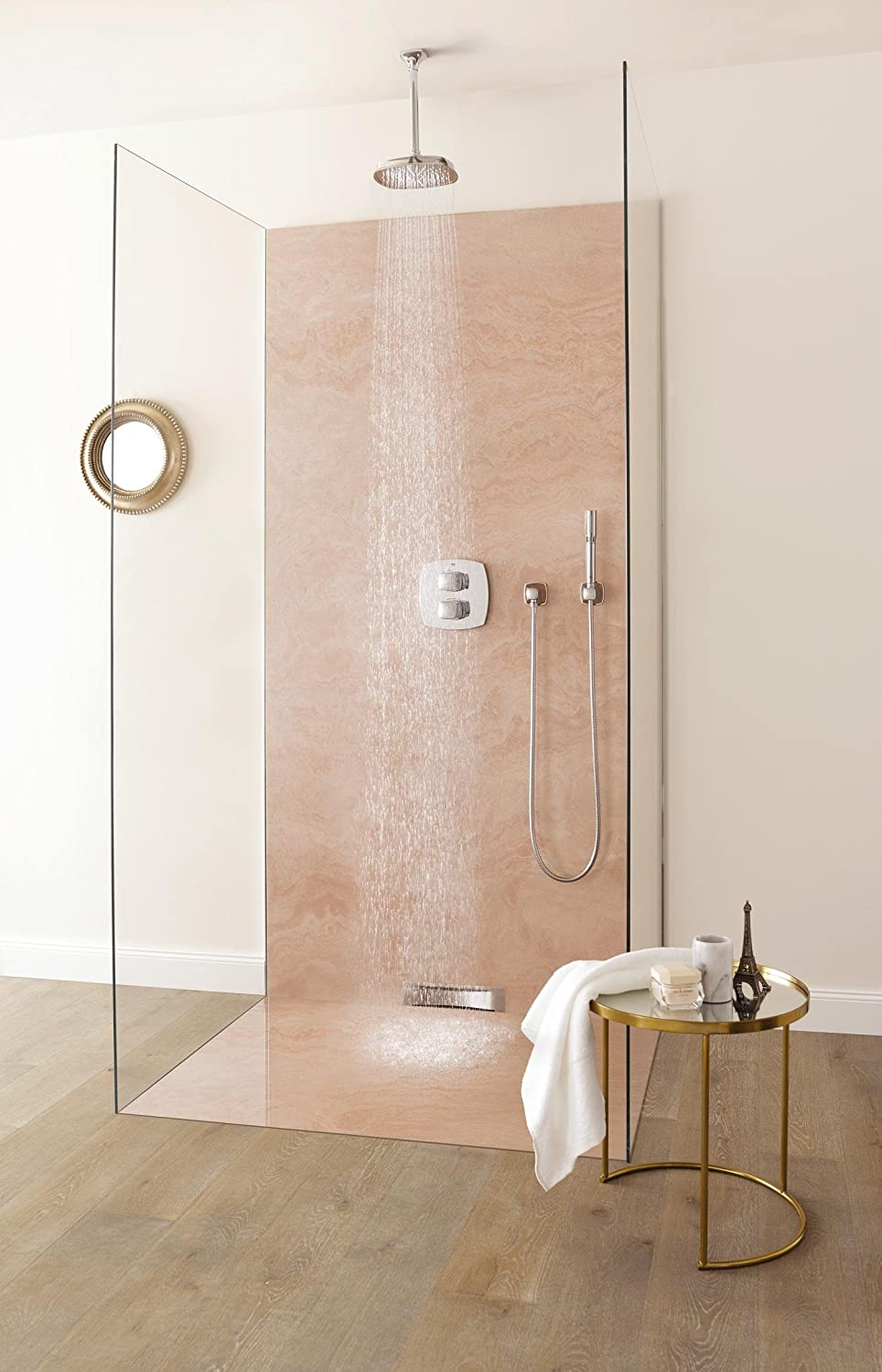 GROHE 19937000 Grandera Thermostatic Shower Mixer with Diverter ...