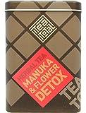 Tea total (ティートータル) / マヌカフラワー デトックス 60g入り缶 ニュージーランド産 (ハーブティー / フレーバーティー  / ノンカフェイン) [並行輸入品]