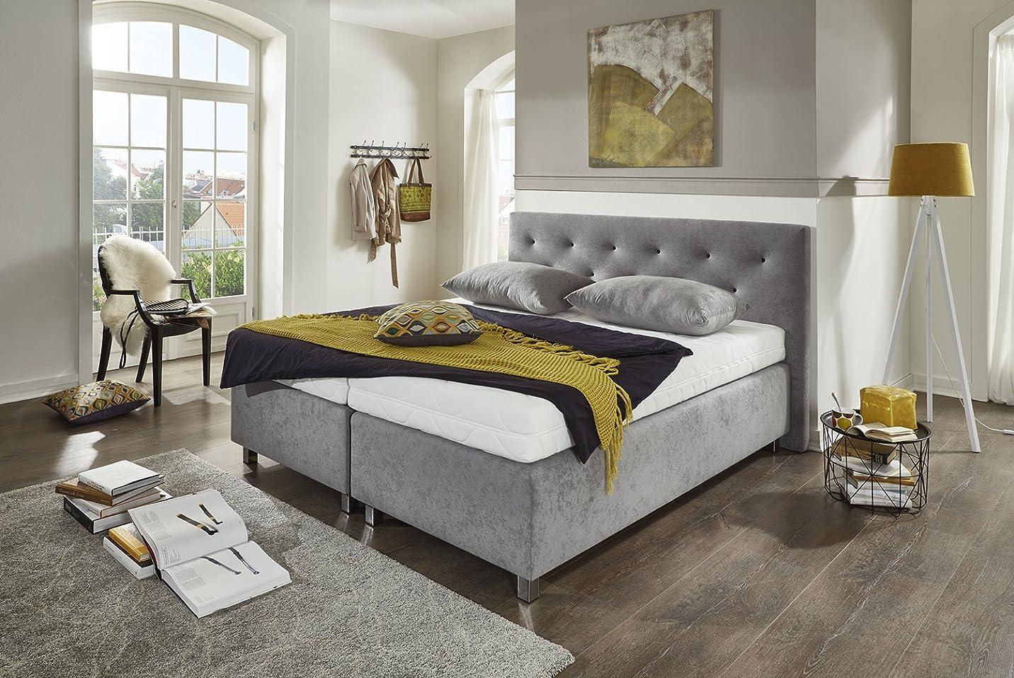 spenger bettenstudio boxspringbett rowina 120x200 cm unterfederung komfortschaum 7 zonen. Black Bedroom Furniture Sets. Home Design Ideas