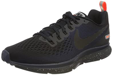 Nike Men s Air Zoom Pegasus 34 Shield Fitness Shoes Black  Amazon.co ... 80ae6b28f
