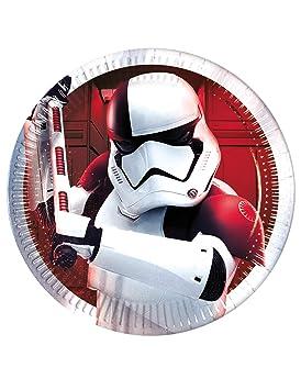 COOLMP - Juego de 12 Platos pequeños de Star Wars 8 The Last ...