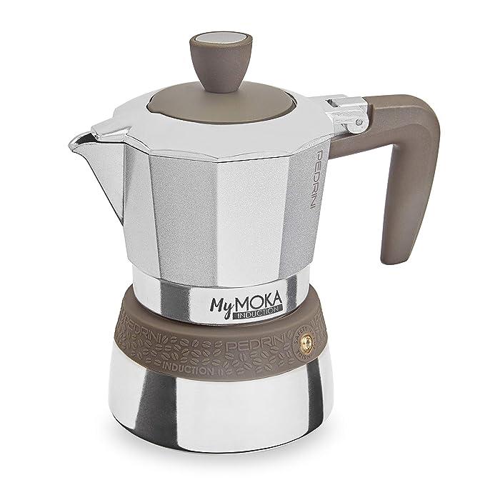 Pedrini Cafetera mymoka Induction, 3 tazas: Amazon.es: Hogar