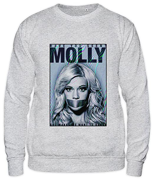 Have You Seen Molly Missing Ectasy MDMA Drugs Unisex Sweatshirt: Amazon.es: Ropa y accesorios