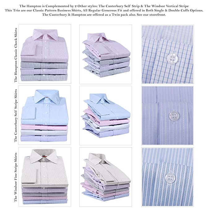 c219391a551 Mens Formal Dress Shirts For Office Business, Wedding Suit & Casual  Leisure. Long Sleeve Style in Single or Double Cuff Options. Janeo British  Apparel ...