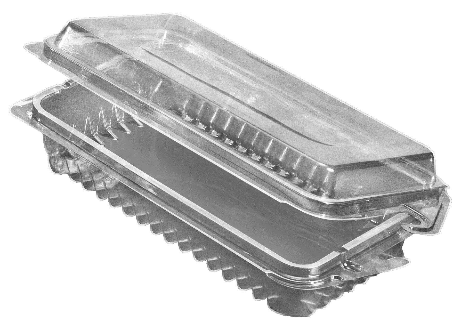 Herbshell Pet Plastic Rigid Container - 900 per case.