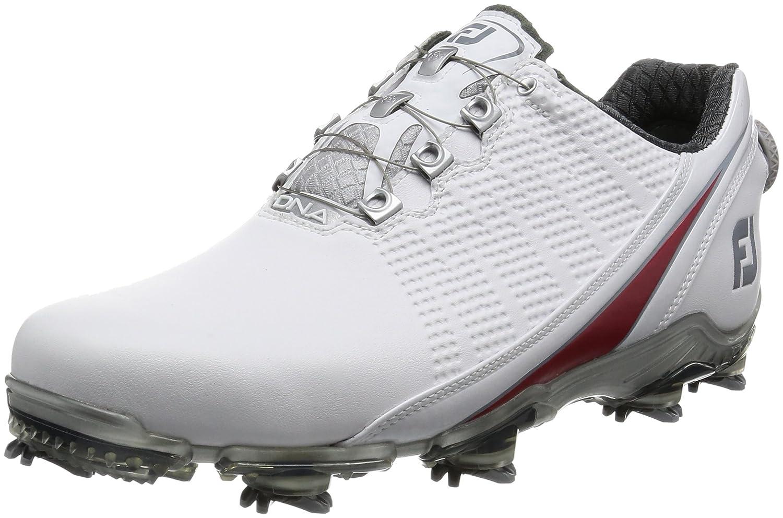 [フットジョイ] ゴルフシューズ 53312J メンズ 27.5 cm Wide ホワイト/レッド2017モデル B01M14SZT1